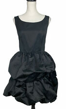 Reiss Black Sleevless Prom Coctail Dress Size UK 8