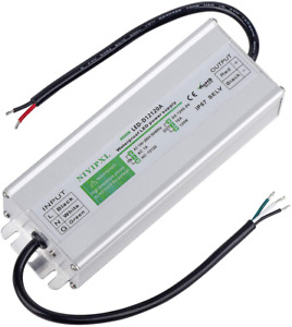 LED Driver 120 Watts Waterproof IP67 Power Supply Transformer Adapter 100V-260V
