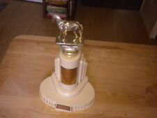 Vintage Dodge Inc. Horse Trophy Bakelite  No Inscription