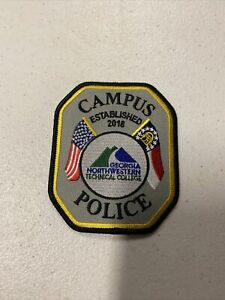 Georgia Northwestern Technical College Campus Police Patch