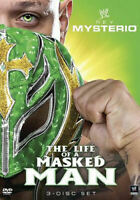 WWE: Rey Mysterio - The Life of a Masked Man (DVD, 2011, 3-Disc Set) - Brand New