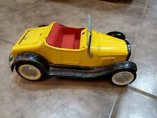 Nylint metal toy car Rockford III model A Roaster w/Rumble seat Yellow