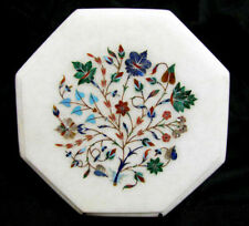 """12""""x12""""  Home Decor Beautiful Design Marble Inlay Table Top"""