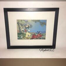 "Disney's Goofy Golf ""Choosing the Right Club"" How to Play Golf Framed Artwork"