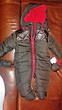 New York ENYCE winter Suit Baby zero to 3 months Black NEW