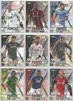 2018 Topps Stadium Club MLS Special Forces Insert Cards U PICK EM LIST