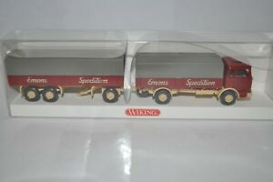 """Wiking 0435 04 MB LP 1620 """"EMONS SPEDITION"""" Truck/Trailer for Marklin-NEW w/BOX"""
