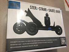 S2 Step Strap Skate Away Cardiff Skate Co Adjustable Skates Size 2 to 8 Blue New
