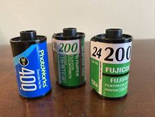 New ListingLot of 3 Exposed Undeveloped 35mm Film Rolls Lot