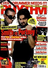RHYTHM DRUMMER MAGAZINE +CD 2007 AUG DEFTONES, GOOD CHARLOTTE, CRADLE OF FILTH,