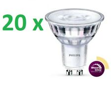 20 x PHILIPS LED CLASSIC spot GU10 4-35W 2200-2700k WARMGLOW intensité variable