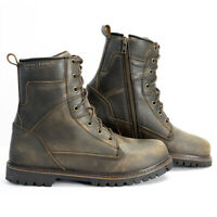 Richa Brookland Boot Rust Motorcycle Urban Commuting Everyday Boot