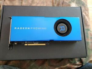 AMD Radeon Pro WX 9100 Workstation/Gaming Graphics Card - 16GB HBM2 Memory