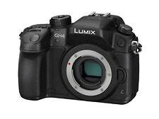 Panasonic DMC-GH4EG-K DSLM Lumix Digitalkamera Foto und 4K Video DMC GH4 Body