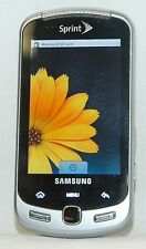 Samsung Moment SPH-M900 Android Sprint 3G Cell Phone BLACK slider qwerty camera