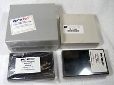 Lot Of 4 Plastic Electronic Project Box Case Pac Tec Bud
