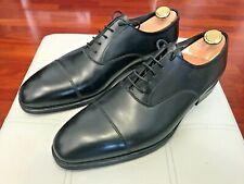 NEW💥Crockett & Jones HANDGRADE Audley💥Oxford Cap Toe Calf black Shoes 10 UK
