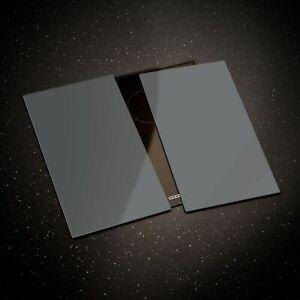 Glass Chopping Board Cooker Hob Cover ESG 60x52cm or 2x30x52 cm Dark Grey