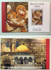 Palestine/Palestinian Authority Bethlehem 2000 Christmas Booklet 6 Pgs 120a MNH