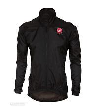 Castelli 2018 Men's SQUADRA Er Cycling Jacket - B17507 XL Black