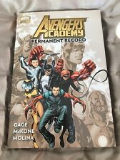 Avengers Academy: Vol.1: Permanent Record by Christos Gage (Hardback, 2011)