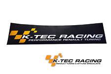 K-TEC RACING MEGANE 2 RS 225/R26/R26.R pare-brise sunstrips