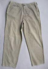 Stussy Vintage Beige Mens Cotton Cargo Pants Size 36 Inch Waist