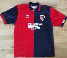 Trikot Cagliari Calcio Jersey Shirt Maglia Errea Pecorino Sardo Gr. L 1993-95