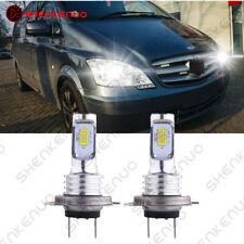 Für MERCEDES-BENZ Vito Bus/Van W639 H7 Weiß  LED Abblendlicht Scheinwerfer 2X
