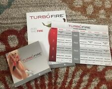 Previously owned. Used, but good condition turbo fire fitness dvd set