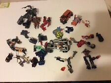 Huge Transformers figures lot  Mixed eras Mini con action parts Incomplete Box A