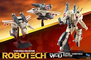 Macross Robotech Rick VF-1J Veritech with Super Armor 1/100 Transformable - New