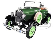 1931 FORD MODEL A ROADSTER BREWSTER GREEN 1/18 DIECAST MODEL BY SUNSTAR 6123