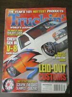 TRUCKIN MAGAZINE FEBRUARY 2006 CHEVY GEN III V8 LEID OUT CUSTOM SLAMFEST SUBZERO