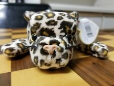 Very rare Ty Beanie Baby - Freckles the Leopard P.V.C. Pellets-multiple errors