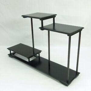 C197: Japanese decorative stand of quality KARAKI wood with very good shape