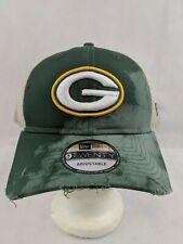 Green Bay Packers NFL New Era Hat 9TWENTY Adjustable Snapback Hat Cap