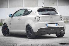 Alfa Romeo MiTo estrattore Diffusore posteriore GTA REPLICA cadamuro design