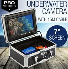 "NEW 4500mah 7"" Underwater Video Camera Fishing Waterproof HD Colour LCD Monitor"