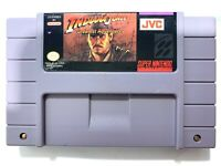 Indiana Jones' Greatest Adventures SUPER NINTENDO SNES GAME TESTED + WORKING!