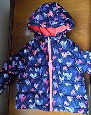 OshKosh Baby Girl 18 M Puffer Coat w/ fleece line Hood