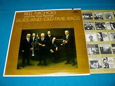 """RED NICHOLS & THE FIVES PENNIES """"Blues & Old Time Rags"""" VG++ Vinyl LP : Capitol"""