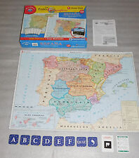 Spanish Reversible Puzzle Game Spain Vicens Vives Puzle Geografico España Juego