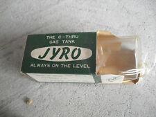Vintage RC Part Jyro Size B C Thru Gas Tank NIP
