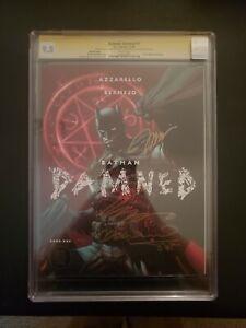 Batman Damned #1 Jim Lee Variant 9.8 CGC, signed x4