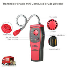Handheld Combustible Gas Detector Gas Leakage Location Determine Tester