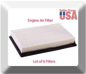 6 x Eng Air Filter VAS1149 Fits:Wix 42170 Fram CA3373 Audi VW Dodge Jeep 67-92