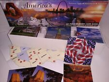 indoor family MEMORY CARD GAME America's National Parks Monuments Memorials