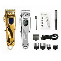Kemei-2010 All-metal Professional Barber Hair Clipper Electric Cordless Trimmer