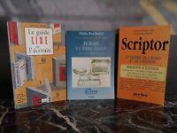 Ecrire et être édité Le guide LIRE de l'écrivain Scriptor ARTBOOK by PN
